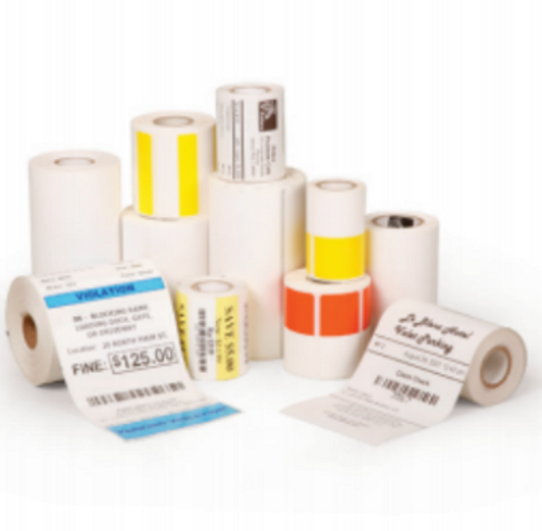 Zebra Receipt Paper, 3.14in x 40ft, Direct Thermal, Z-Select 4000D 3.2 mil, 0.4 in core, 36 Rolls/Carton