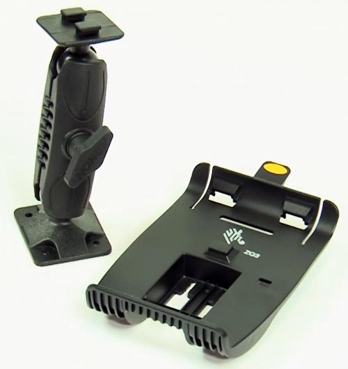Zebra Mounting Kits, Hardware & Brackets ZQ300, Vehicle holder; attaches to dashboard