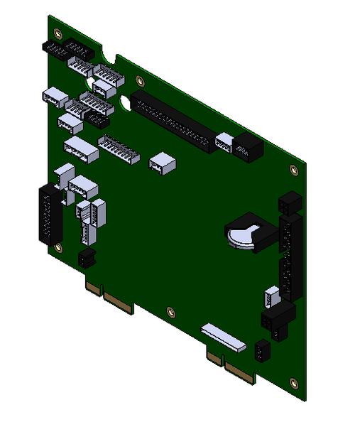 Kit Main Logic Board ZT600 Series - P1083320-035
