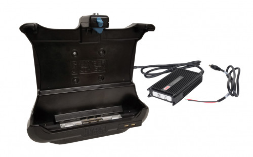 KIT: CF-33 NO RF FULL port replication tablet dock (7160-0907-00) and LIND power adapter (#14103) - 7170-0684-00