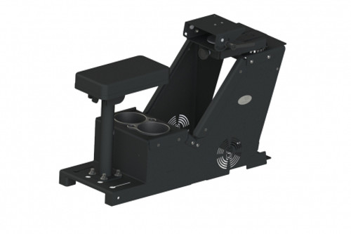 """Vehicle kit includes console box (7160-0916), a cup holder (7160-0846), an armrest (MCS-ARMREST), and a  6"""" locking slide arm Motion Attachment (7160-0500) - 7170-0570-05"""