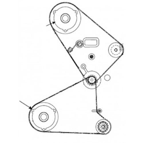 Kit Pulley 48T ZXP8 | 105936G-075