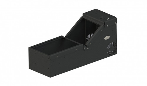 Universal console box only with sloped front  - 7160-0896