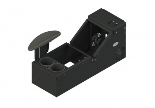 Kit includes console box (7160-0896), cup holder (7160-0846) and armrest (7110-1013)  - 7170-0579-01