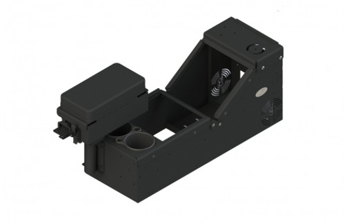Kit includes console box (7160-0896), cup holder (7160-0846) and printer armrest (7160-0430) - 7170-0579-02