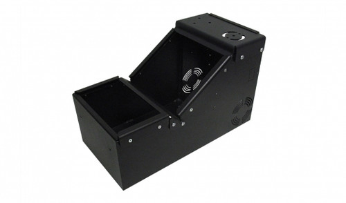 Short universal console box only with sloped front - 7160-0899