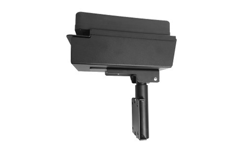 Armrest with vertical surface mount - 7170-0607-01
