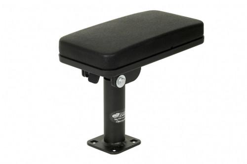 "Heavy duty pedestal armrest on a 5"" pole - MCS-ARMREST5"