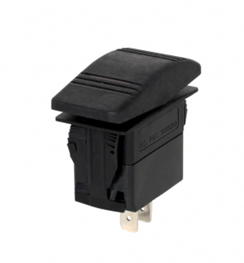 Rocker switch (ON/OFF) - 3 contacts (ground, input, output) - 7160-0517