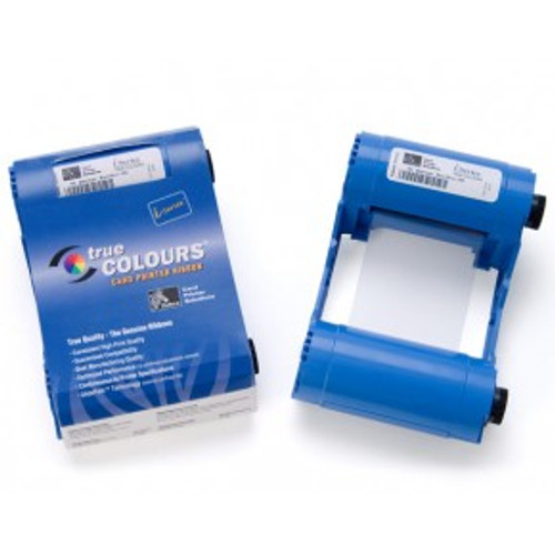 Zebra iSeries white monochrome ribbon cartridge for P1xx printers, 850 images | 800015-909