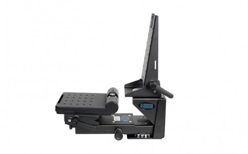 INDEPENDENT ROTATION KIT. Combines (Independent Rotation Keyboard/Display Mount 7160-0758), (Tablet Display Mount for Independant Rotation 7160-0761), (Mongoose with stud 7160-0427), (Low Clevis 7160-0783) and (new Quick Release Keyboard Tray 7160-0757) to form a solution where the Tablet computer and Keyboard can be moved independantly. - 7170-0514