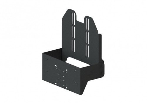 This mount is designed to hold both your tablet and keyboard. The keyboard is designed to be held in the vertical position in this mount. - 7160-1257