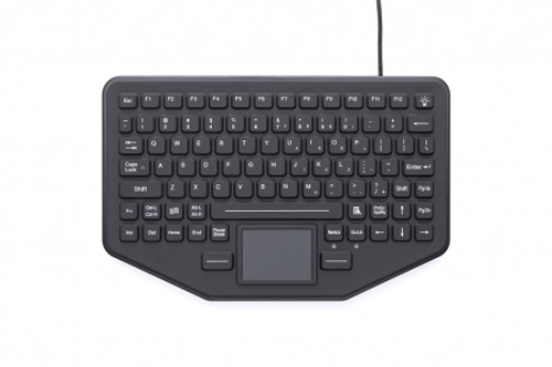 SkinnyBoard'Ñ¢ mobile keyboard with touchpad (SB-87-TP-M) - 7300-0032