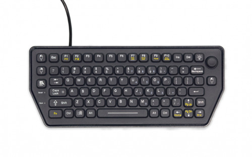 Mobile backlit keyboard with force sensing resistor (SLK-79-FSR) - 7300-0171