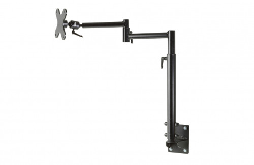 Kit includes wall mount (17246), dual articulating arms with adjustable height and medium joiner (7110-1246), VESA 75/100 mm adapter plate (14140) - 7170-0597