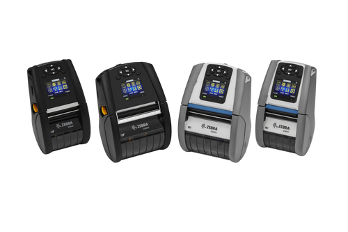 """Zebra ZQ620 3"""" Mobile Printer, Direct Thermal,  English fonts, Bluetooth  4.x, Linerless platen, 0.75"""" core, Group 0, Ext Battery"""