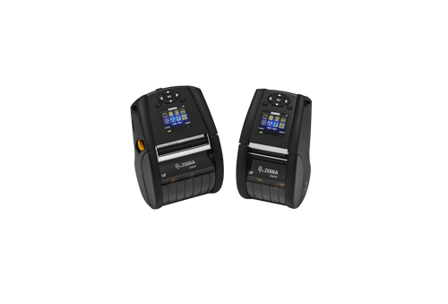 """Zebra ZQ620 3"""" Mobile Printer; Direct Thermal; Direct Thermal;  English fonts, BT 4.x, Linerless platen, 1.375"""" core, Group 0, Ext Battery"""