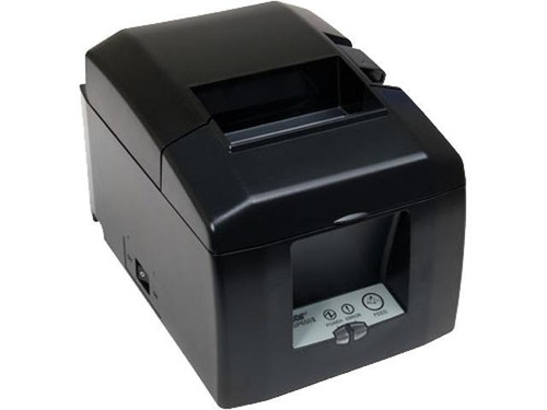 TSP650, Thermal, Auto-Cutter, LAN, cloudPRNT, Gray, External Power Supply included