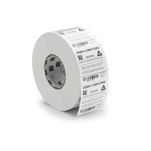 10023230 - Label, Polyester, 3x2, Thermal Transfer, Z-Xtreme 4000T High-Tack White, 3in core, 1 Roll/Carton