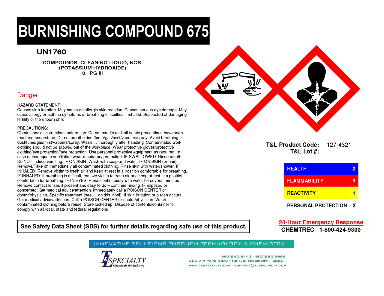 Burnishing Compound 675