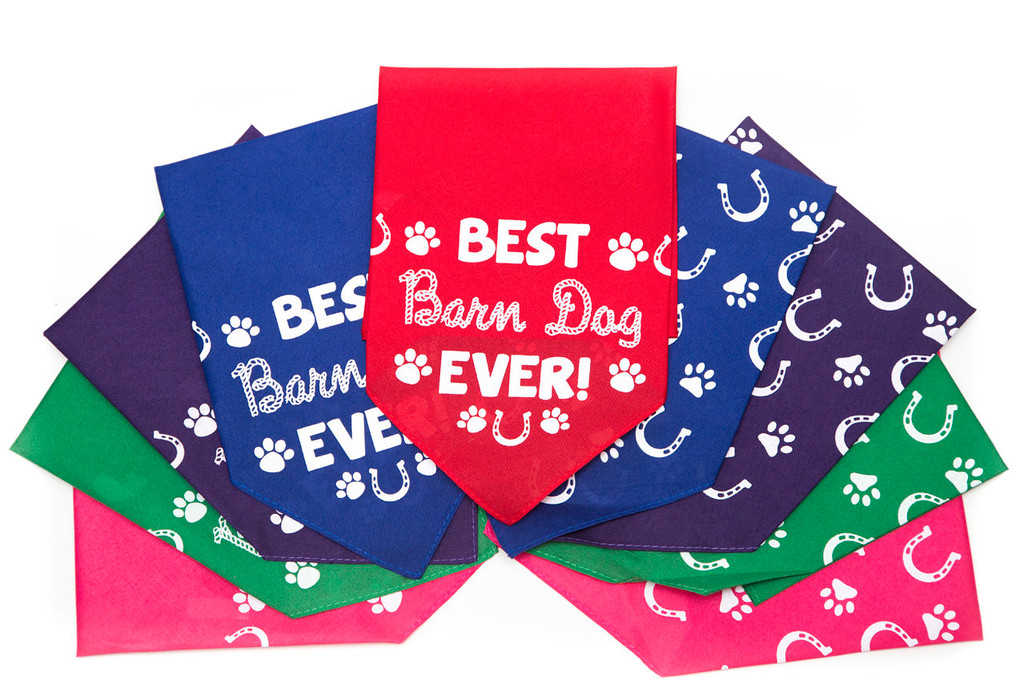 Best Barn Dog Bandana