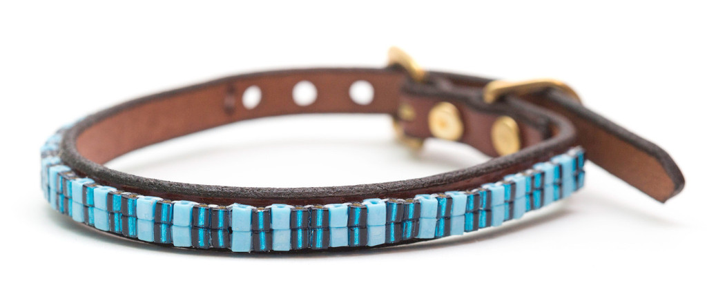 Blue Martini Pet Collar