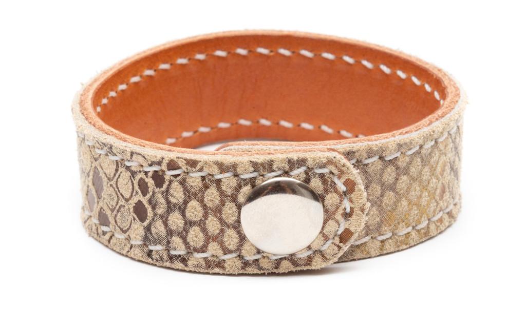 Prestige Snakeskin Bracelet