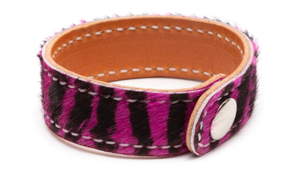 Prestige Purple Zebra Bracelet