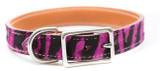 Prestige Purple Zebra Pet Collar