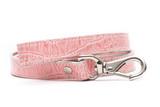 Prestige Pink Crocodile Pet Leash