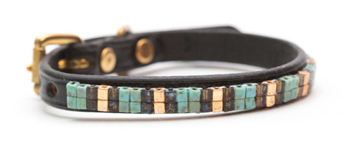 Aztec Gold Pet Collar