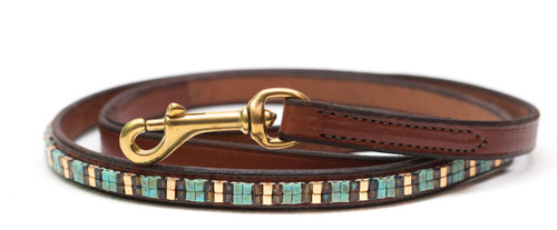 Aztec Gold Pet Leash
