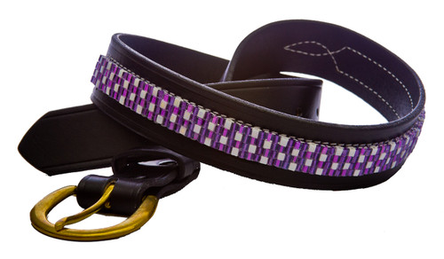 Purple Jewel Belt