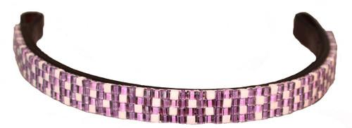 Purple Jewel Browband