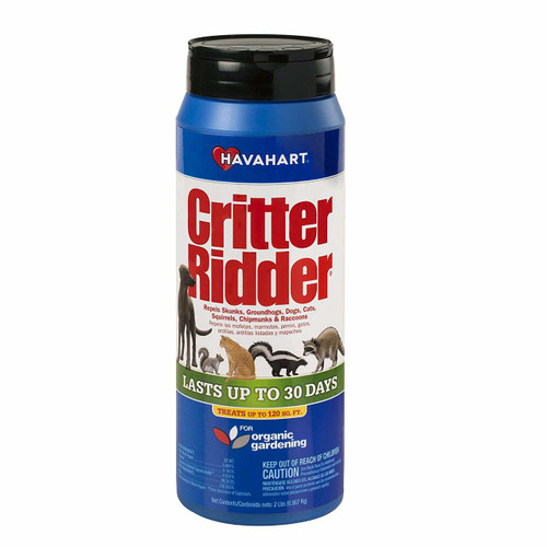 Havahart Critter Ridder Animal Repellent Granular Shaker, 2-Pound