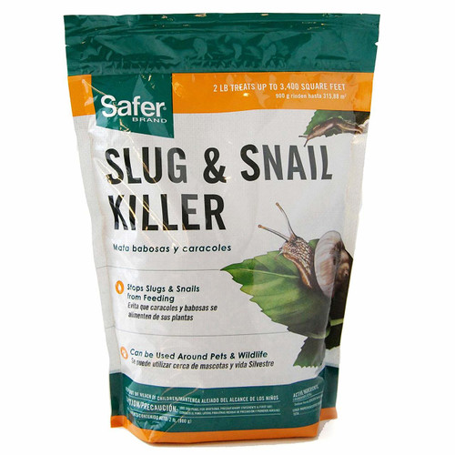 Safer Brand Slug & Snail Killer, 2 lb