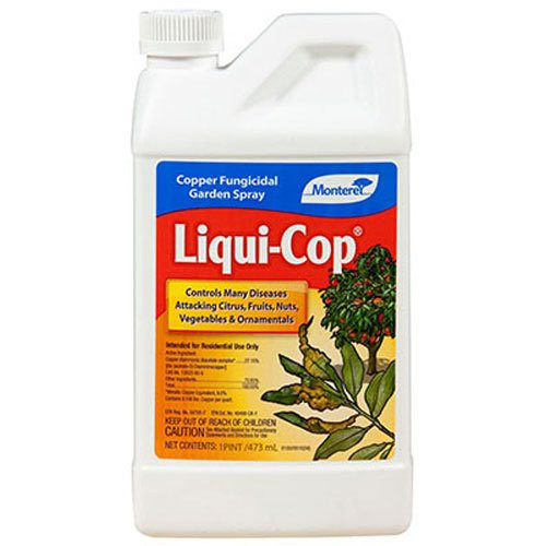 Liquid Copper Fungicide Spray