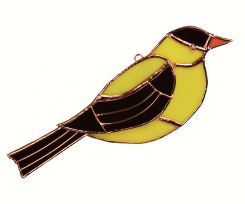Goldfinch Sun Catcher