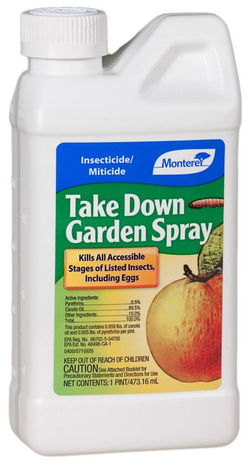 Take Down Garden Spray, 1 Pint Conc.