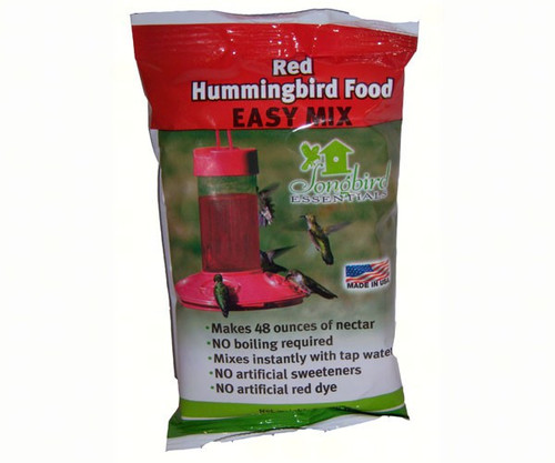 8 oz Red Hummingbird Nectar All Natural- No Dyes