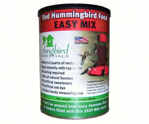 24 oz Red Hummingbird Nectar All Natural- No Dyes