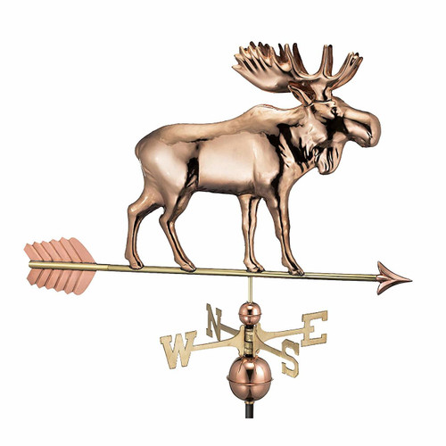 Moose Weathervane with Arrow