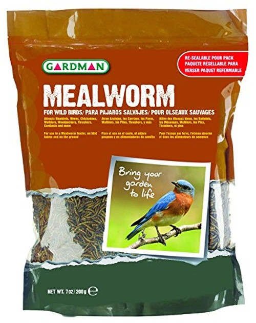 Mealworm Tub Medium, 7 oz.