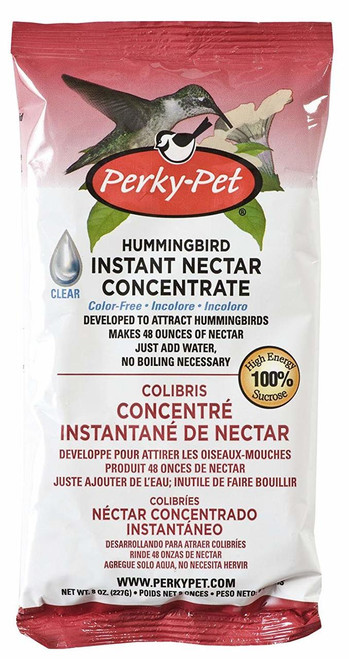 Perky Pet Hummingbird Instant Nectar Concentrate, 8 Oz