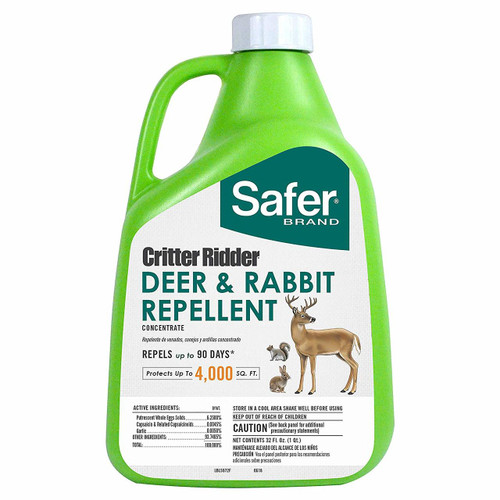 Critter Ridder Deer & Rabbit Repellent, 32 oz