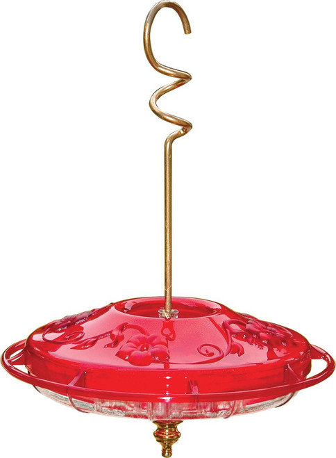 Hummzinger Fancy Hummingbird Feeder, Rose