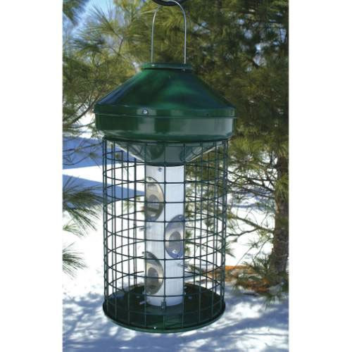 Heavy Duty Caged Mixed Seed Feeder