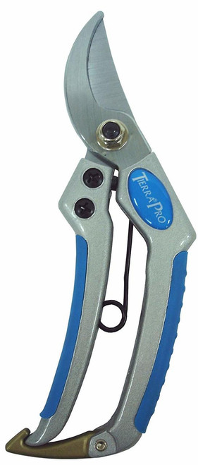 Pro Bypass Pruning Shears with Aluminum Handles and Soft TPR Grips