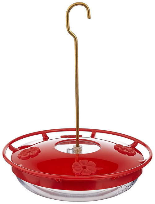 HummZinger HighView 12 oz Hanging Hummingbird Feeder