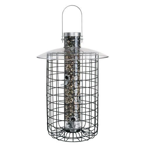 Domed Cage Sunflower Seed Birdfeeder, 20 Inches